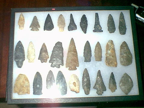 Cedar Park Tx >> AustinDiggers.Com - Mark R. - Summit County, Cuyahoga Falls, Ohio - Collection Arrowheads